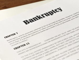 Does bankruptcy cover government debt